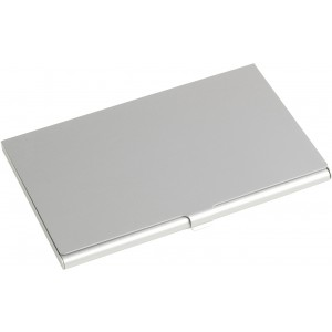 Alumínium névjegytartó, ezüst